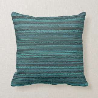 Turquoise Abstract Pillow Throw Cushions