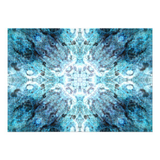 Turquoise Abstract with some soft blurred edges Announcement