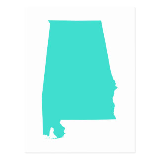 Turquoise Alabama Postcards