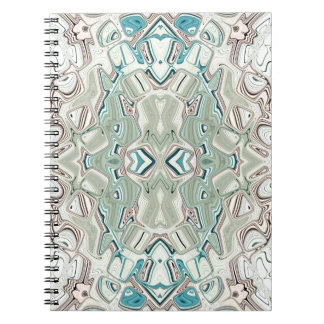Turquoise And Copper Blend Notebook