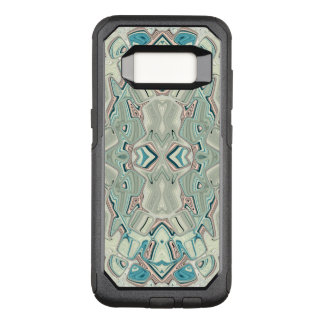 Turquoise And Copper Blend OtterBox Commuter Samsung Galaxy S8 Case