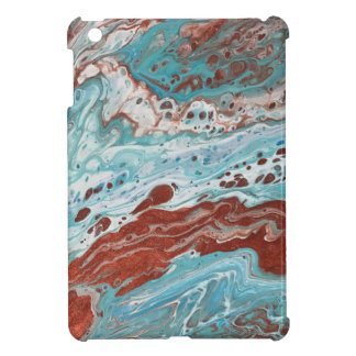 "Turquoise and Copper iPad Mini Case - ""Bella"""