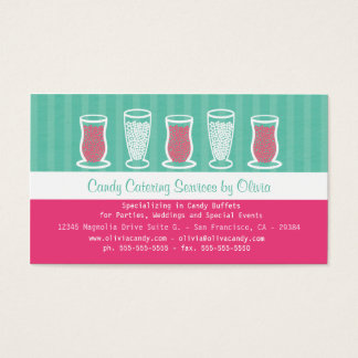 26 candy buffet business cards and candy buffet business for Candy business cards