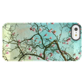 Turquoise and Pink Spring Flower iPhone Case