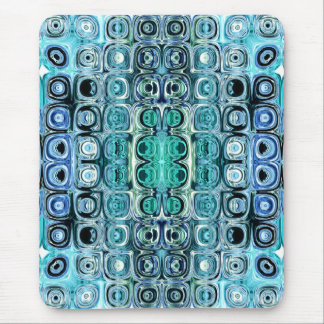 Turquoise And Teal Reflections Mouse Pad