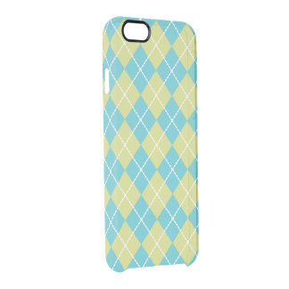 Turquoise Argyle iPhone 6 Case
