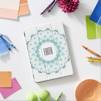 Turquoise Art Deco Design iPad Air Cover