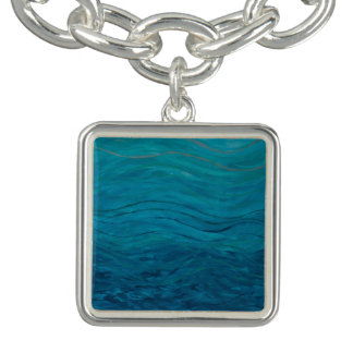 Turquoise, Beautiful Water Charm for Bracelet