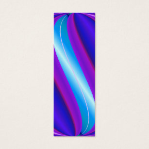 Bookmark business cards business card printing zazzle turquoise blue bookmarks mini business card colourmoves