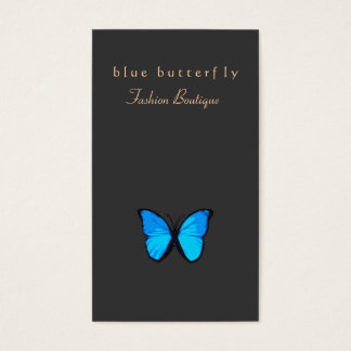 Turquoise Blue Butterfly Nature Business Card