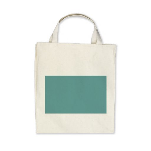 Turquoise blue-green bold bags