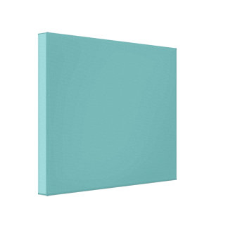 Turquoise blue-green bold canvas prints