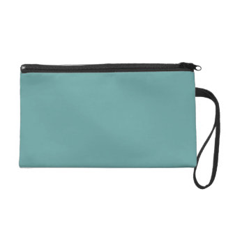 Turquoise blue-green bold wristlet