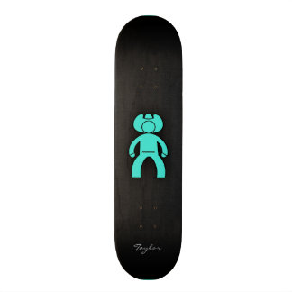 Turquoise; Blue Green Cowboy 20 Cm Skateboard Deck