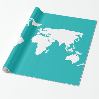 turquoise blue map