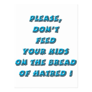 Turquoise - Bread of Hate Post Card