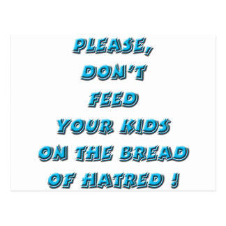 Turquoise - Bread of Hate Postcard