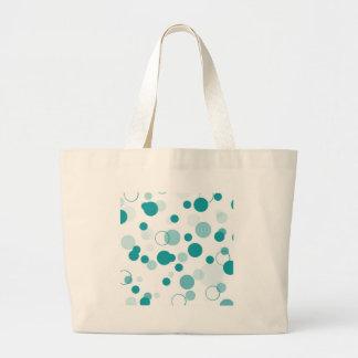 Turquoise bubbles bag