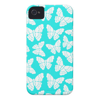 Turquoise butterflies BlackBerry Bold Case