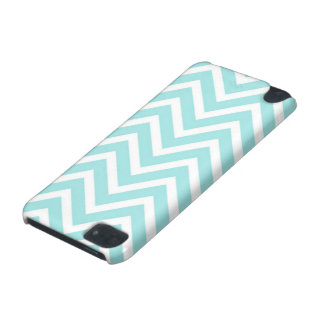 Turquoise Chevron Printed iPod 5 Case