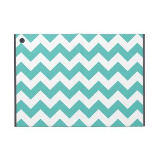 Turquoise Chevron Zigzag Covers For iPad Mini