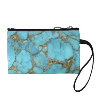 """Turquoise Clutch"" Coin Wallet"