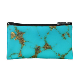 """""""Turquoise Cosmetic Bag"""" Makeup Bags"""
