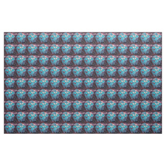 Turquoise Cosmic Dragon Fabric