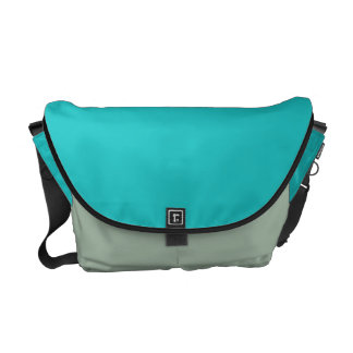 Turquoise Courier Bag