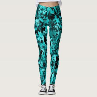 Turquoise Craze... Leggings