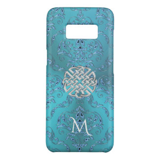Turquoise Damask Celtic Knot Case-Mate Samsung Galaxy S8 Case