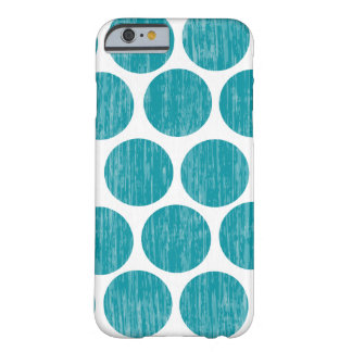 Turquoise Distressed Polka Dot iPhone 6 Barely There iPhone 6 Case