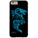Turquoise Dragon Custom iPhone 6 Plus case Barely There iPhone 6 Plus Case