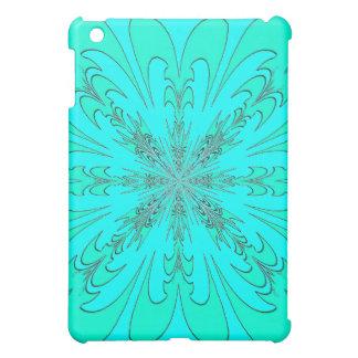 Turquoise Fractal Design Speck Case iPad Mini Cases