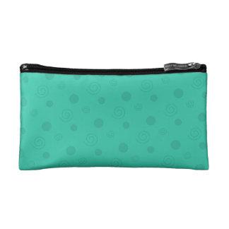 Turquoise Fun Cosmetic Bags