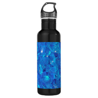 TURQUOISE GLASS 710 ML WATER BOTTLE