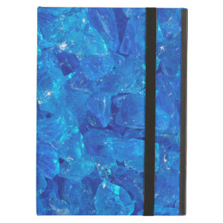 TURQUOISE GLASS iPad AIR COVERS