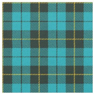 Turquoise green/blue plaid yellow/black stripe fabric