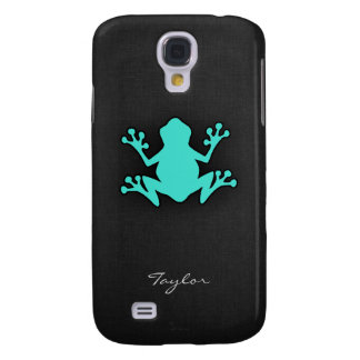 Turquoise Green Frog Samsung Galaxy S4 Cover
