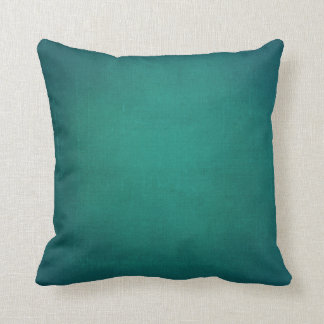 Turquoise Greenish Blue Rustic Room Accent Cushion