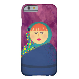 Turquoise Hijab on Beautiful Red Woman Barely There iPhone 6 Case