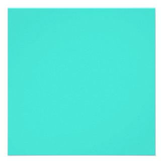 Turquoise Custom Announcements