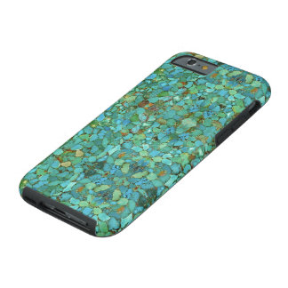 """""""Turquoise iPhone 6 Cases"""" Tough iPhone 6 Case"""