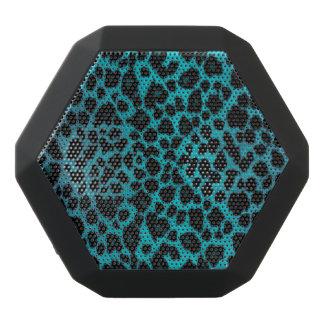 Turquoise Leopard Animal Print Boombot Speaker