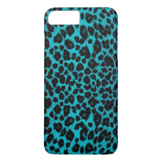 Turquoise Leopard Print iPhone 8 Plus/7 Plus Case