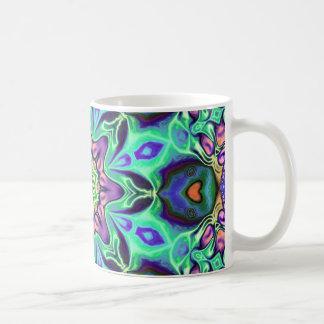 Turquoise Mandala Abstract Coffee Mug