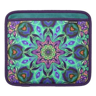 Turquoise Mandala Abstract iPad Sleeve