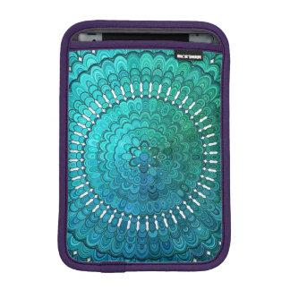 Turquoise Mandala iPad Mini Sleeve