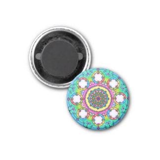 Turquoise Mandala Magnet