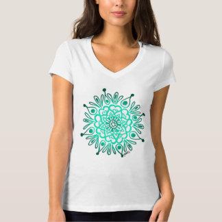 Turquoise Mandala T-shirt